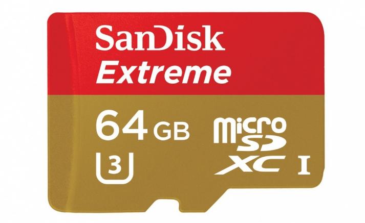 SanDisk Extreme microSDXC 64GB