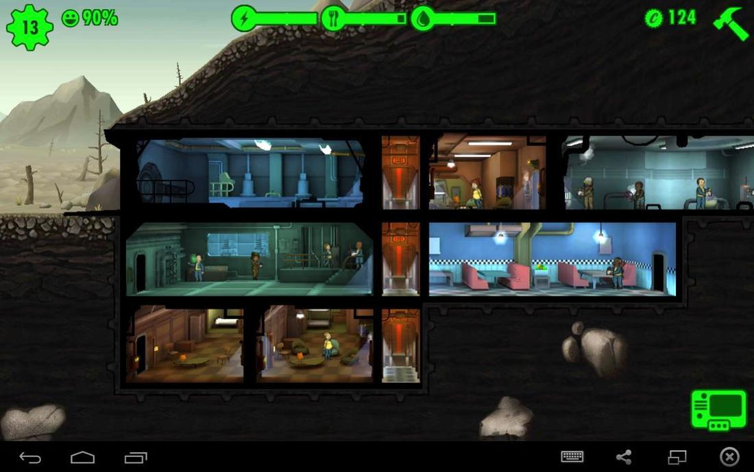 Fallout Shelter w Bluestacks