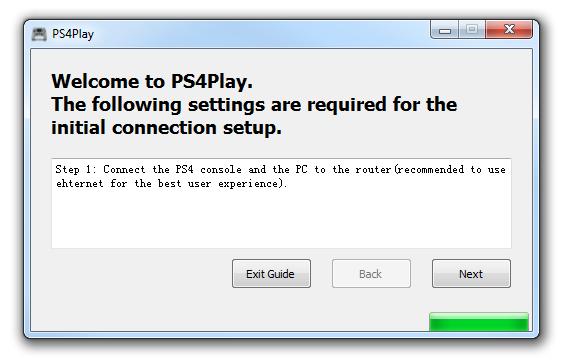 PS4Play - rozpoczęcie konfiguracji