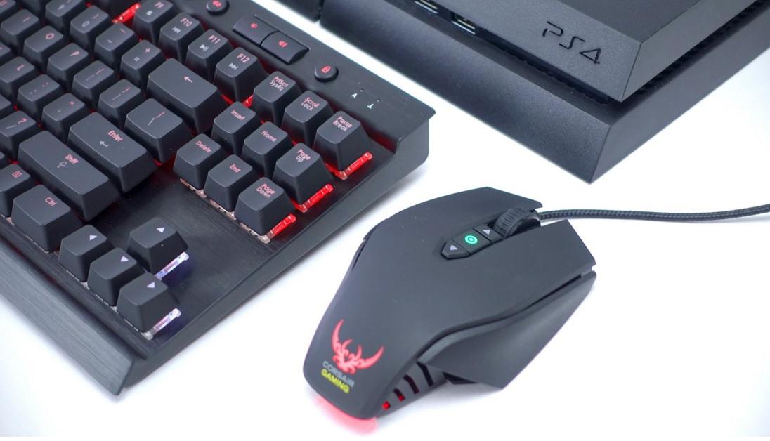 PS4 na PC i klawiaturze oraz myszce