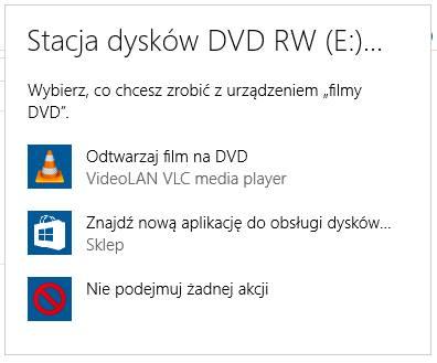 Odtwórz DVD za pomocą VLC