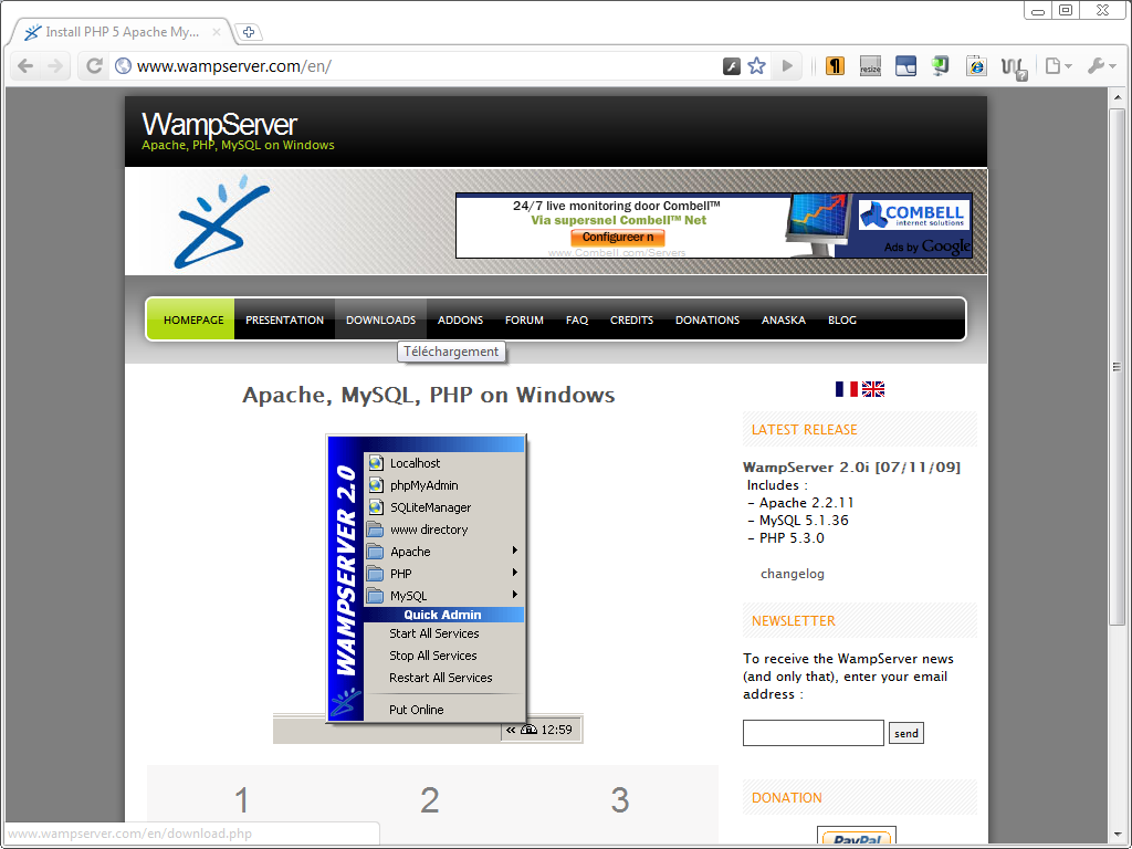 Installing Wamp Server Free Download Programs