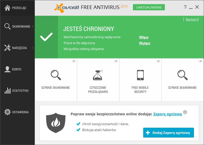 Avast Free Antivirus 2016 11 2 2261 Download