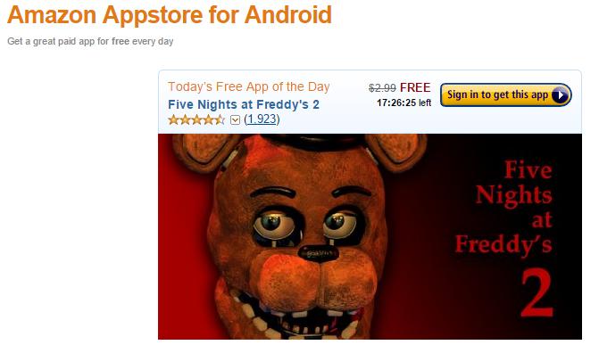 Promocja gry na androida
