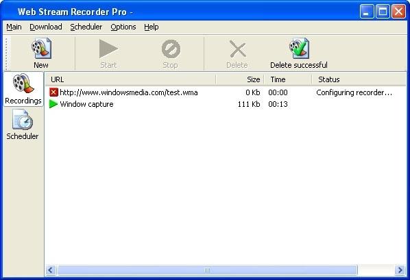 Web Stream Recorder - фото 6