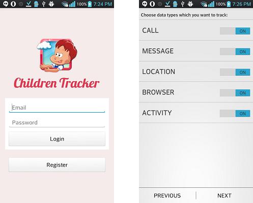 Children Tracker - kontrola rodzicielska