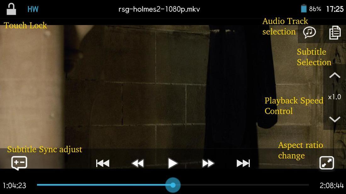 DicePlayer na Androida