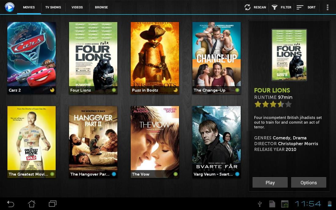 mVideoPlayer na Androida
