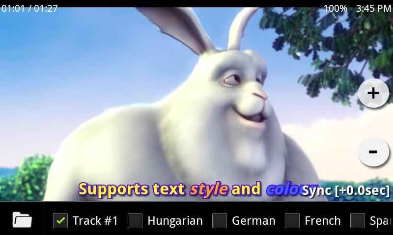 MXPlayer na Androida