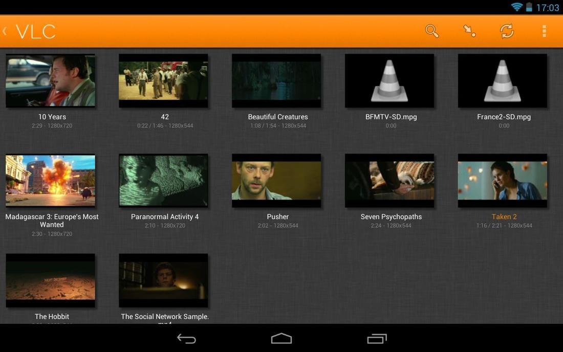 VLC na Androida