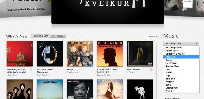 iTunes Store - Muzyka