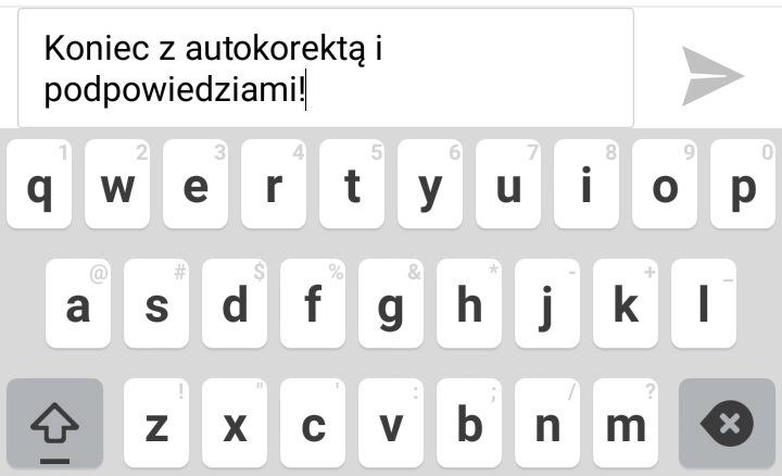 Jak wyłączyć autokorektę i podpowiedzi wyrazów na Androidzie