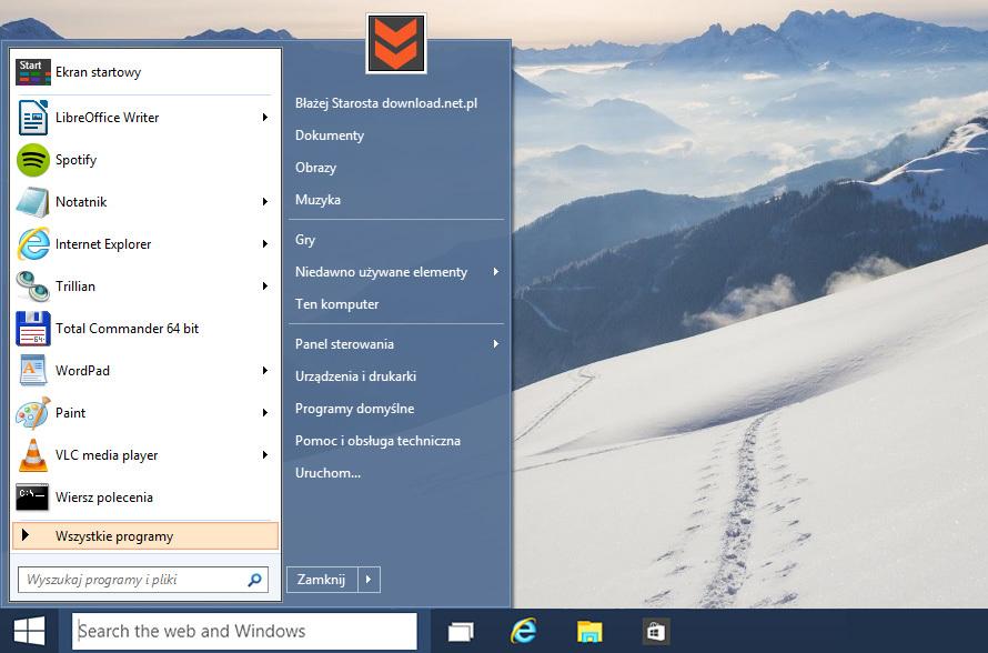 Windows 10 i Classic Shell