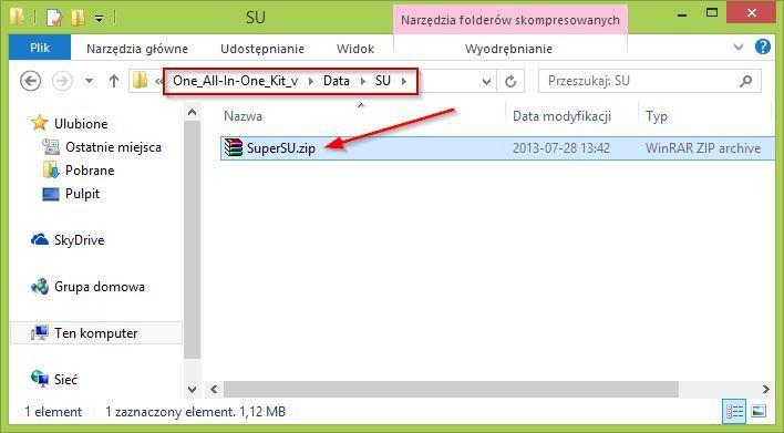 Pliki SuperSU dla HTC One