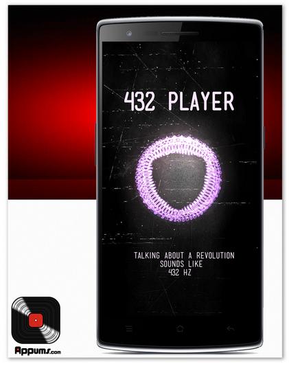 Odtwarzanie muzyki w 432 Hz na Androidzie
