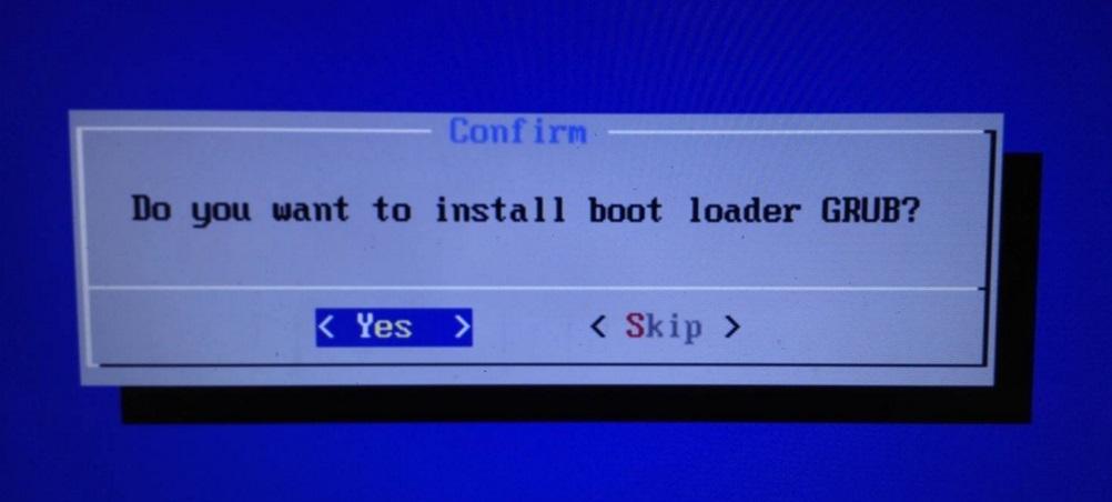 Instalacja bootloadera GRUB