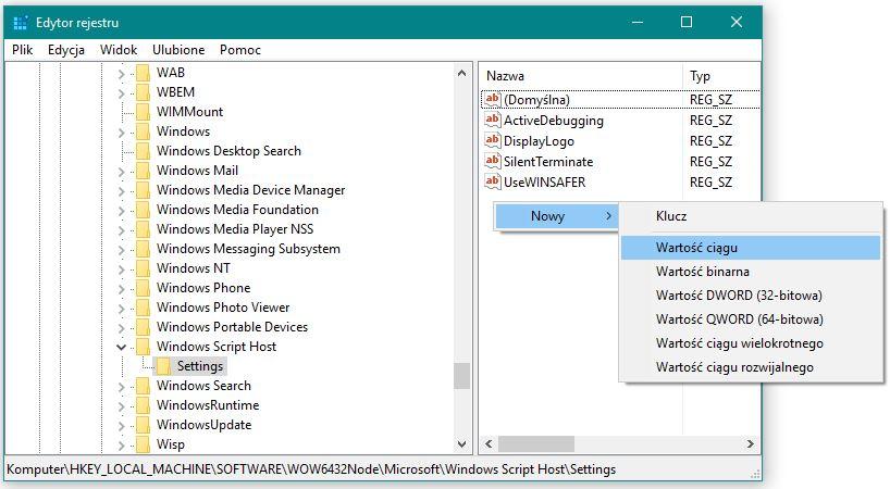 Jak wyczy windows script host w windows 10 dezaktywacja windows script host ccuart Image collections