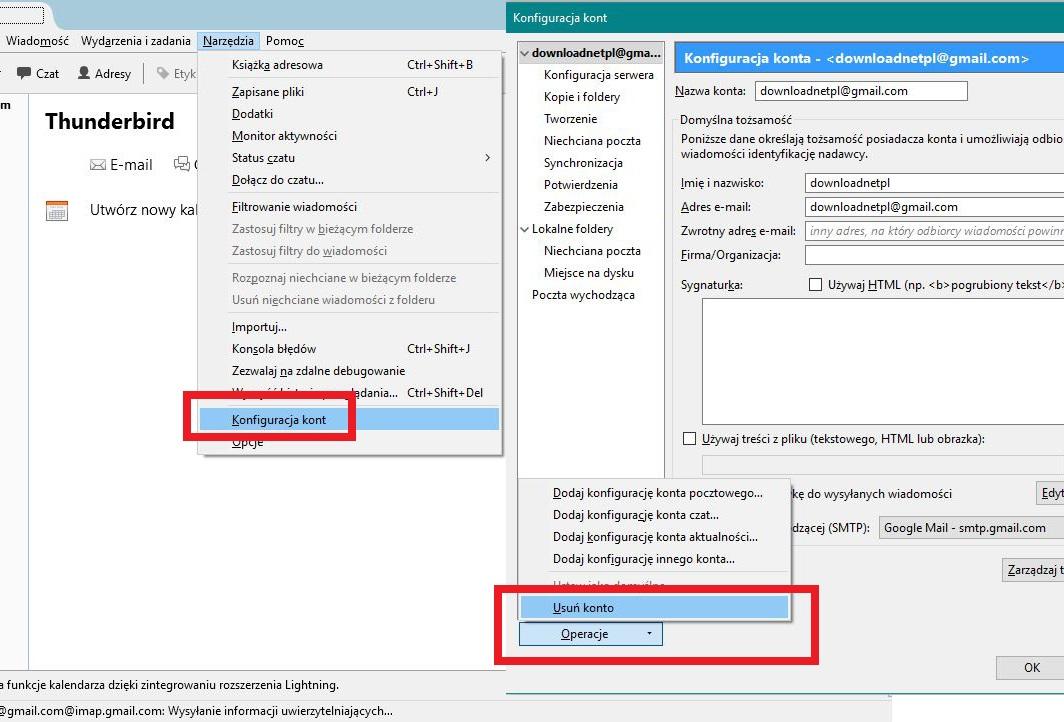 c7b83a939f8b06 Spowoduje to otwarcie nowego okienka z opcjami dodanych kont e-mail do  naszego klienta poczty.