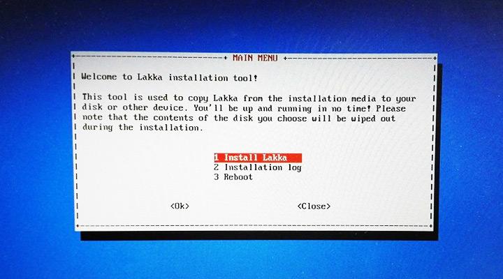 Instalacja Lakka.tv