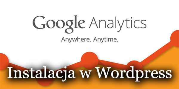 Wordpress - jak zainstalować Google Analytics