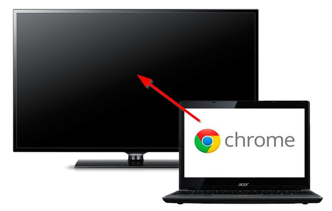 Jak przesyłać filmy z Chrome do telewizora