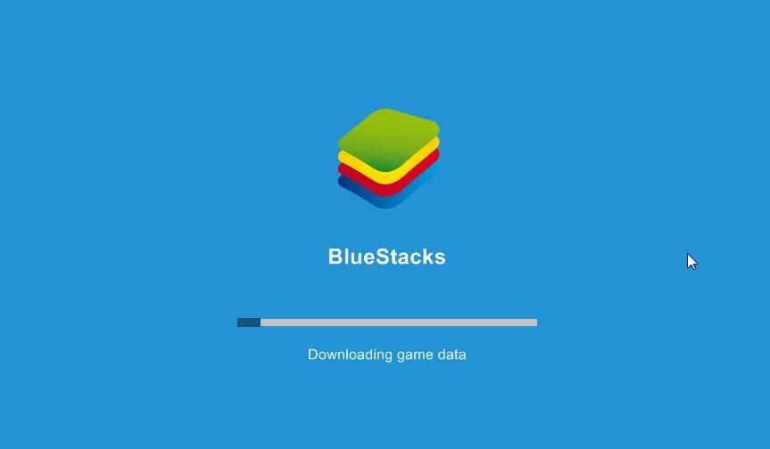 Bluestacks - konfiguracja wstępna