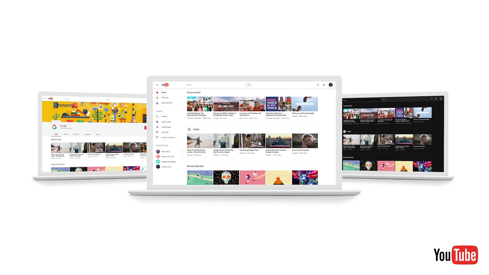 YouTube - interfejs Polymer