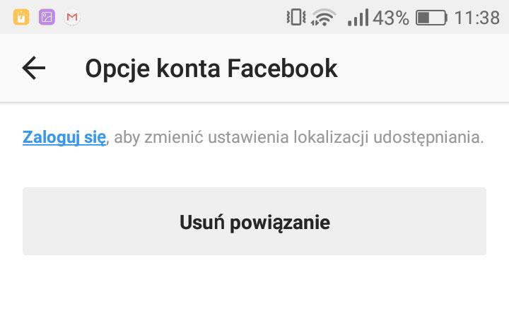 02ad57d4d5de41 Jak odłączyć Facebooka od konta Instagram