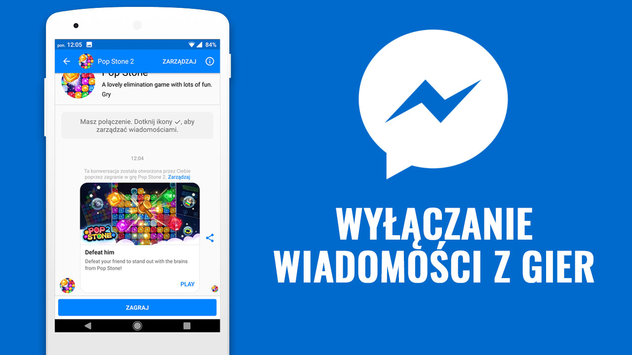 Jak wyłączyć wiadomości z gier na Facebooku i w Messengerze