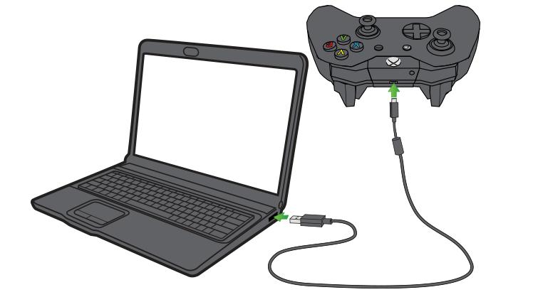 Podłącz kontroler Xbox One do PC