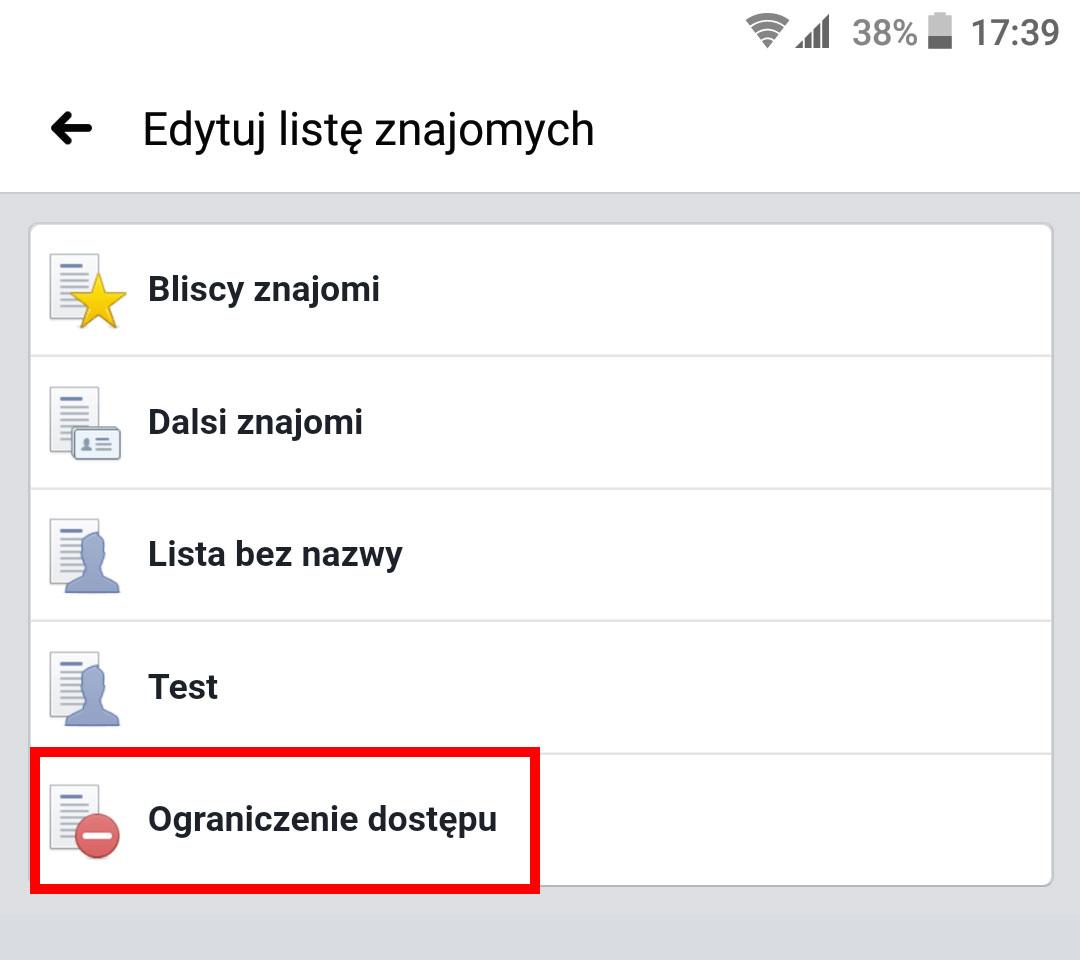 Dodaj użytkownika do ograniczonego dostępu w Androidzie