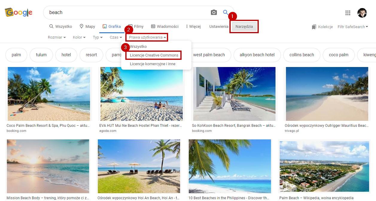 Ustaw wyniki wyszukiwania na bezpłatne zdjęcia