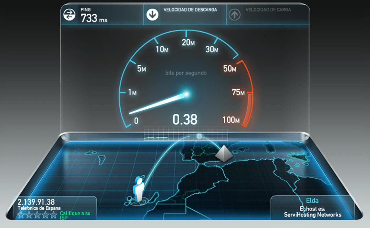 ¿Es mi velocidad de Internet la contratada?