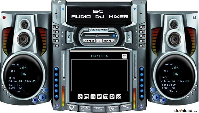 تحميل برنامج mp3 audio mixer مجانا