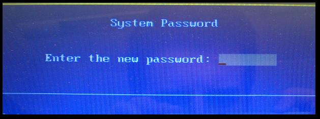 Ustawianie hasła w BIOS