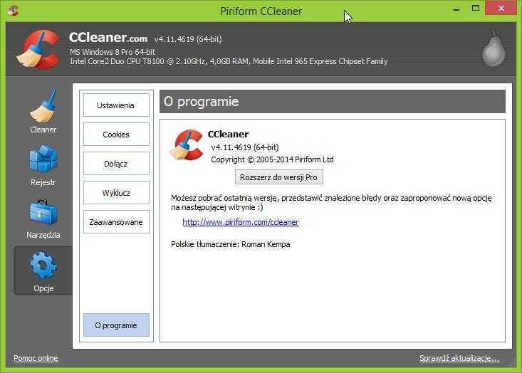 CCleaner 4.11