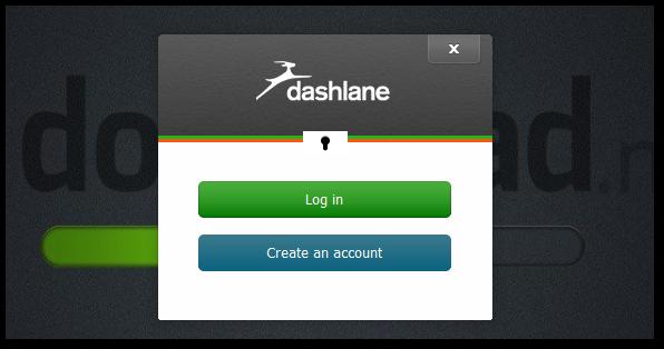 Tworzenie konta w Dashlane
